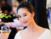 Huyền Trang Next top Model trẻ trung đi xem thể thao