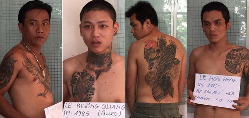 Ngăn chặn vụ tàn sát, bắt 63 tên giang hồ cộm cán