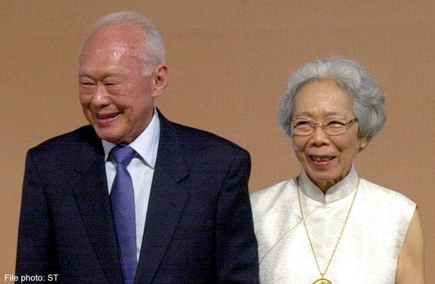 Lý Quang Diệu, vợ, qua đời, tình yêu