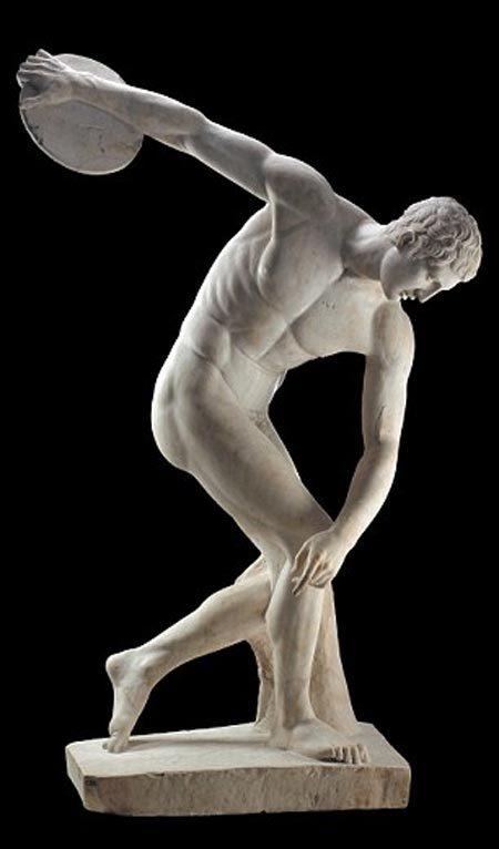 tượng, tác phẩm điêu khắc, Hy Lạp cổ, khỏa thân
