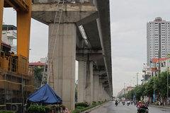 Tổng thầu TQ thất hứa, đường sắt trên cao HN chậm tiến độ
