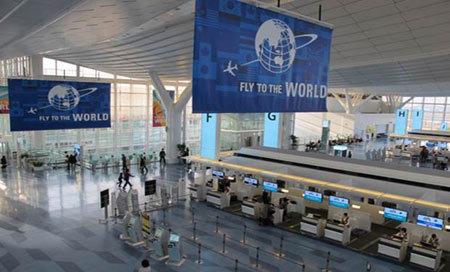 dịch vụ đầy đủ của sân bay