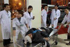 Bộ trưởng Y tế vào Hà Tĩnh chỉ đạo cấp cứu nạn nhân