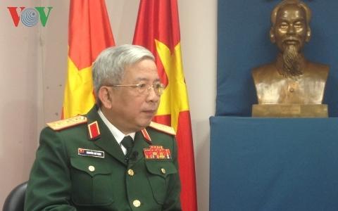 quốc phòng, Nguyễn Chí Vịnh, chủ quyền, nước lớn