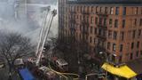 Nổ lớn san phẳng tòa nhà New York, nhiều người bị thương