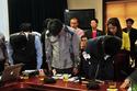 Lãnh đạo Formosa cúi đầu tạ lỗi vụ sập giàn giáo