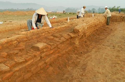 khảo cổ, di tích, Chăm