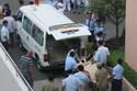 Thai phụ nhảy lầu bệnh viện sau khi điện thoại về nhà