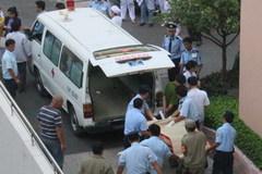 Thai phụ rơi từ tầng 12 bệnh viện sau khi điện thoại về nhà
