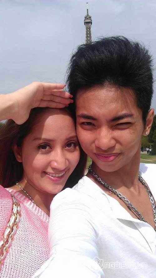 Bạn trai Khánh Thi công khai đăng ảnh tình tứ