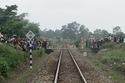 Hai người phụ nữ chết thảm khi băng qua đường sắt