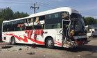 Hai xe khách va chạm mạnh, một người chết và hàng chục người bị thương