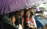 Người Singapore dầm mưa viếng ông Lý Quang Diệu