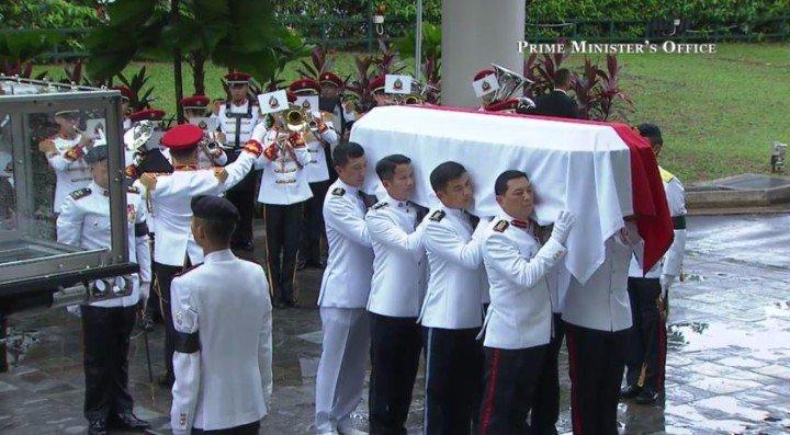 Lý Quang Diệu, Singapore, tang lễ, tiếc thương, tiễn biệt, thế giới