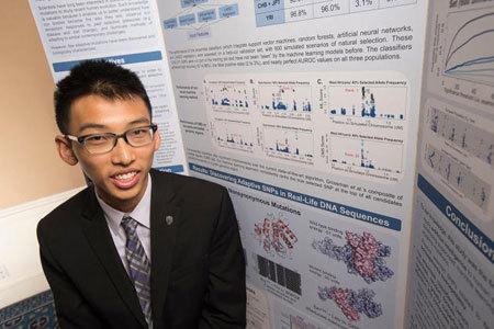 Nam sinh 17 tuổi phát hiện hướng mới cho thuốc chữa HIV