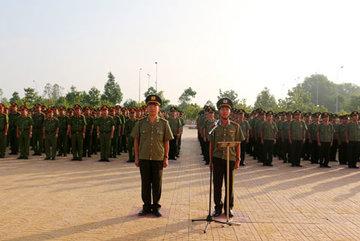 Công an Hậu Giang ra quân 40 ngày trấn áp tội phạm
