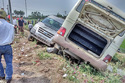 Hà Nội: Xe khách đối đầu, 5 người tử vong