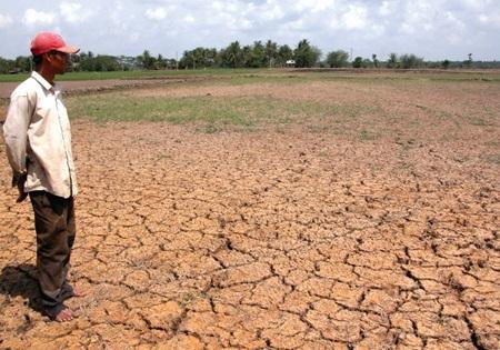 khô hạn, nắng nóng, thiếu nước, Nam Trung Bộ, kéo dài, tháng 9/2015, cải thiện, Trung tâm Khí tượng Thủy văn Quốc gia