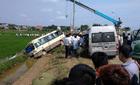 Hiện trường 2 xe khách đâm nhau 5 người chết