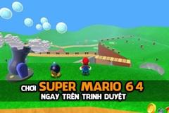 Chơi Super Mario 64 ngay trên trình duyệt