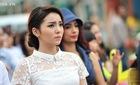 Hoa hậu Kỳ Duyên vô tình để lộ khuyết điểm trên cơ thể
