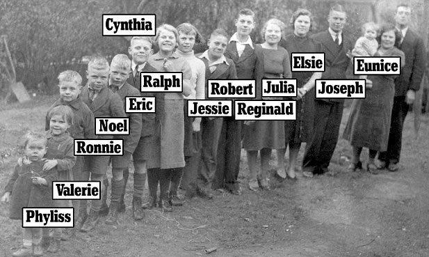 Gia đình già nhất thế giới với kỷ lục ngàn tuổi