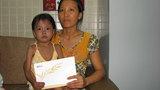 Gần 40 triệu đồng đến với bé Cẩm Linh