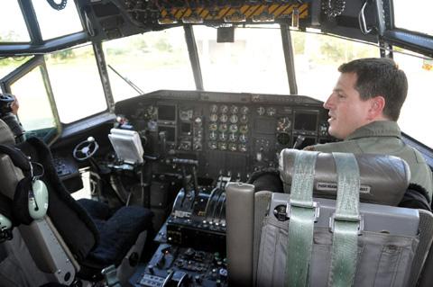 Máy bay 'siêu tải' của không quân Hoa Kỳ tại Đà Nẵng