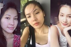 Sao Việt mộc mạc khi không son phấn