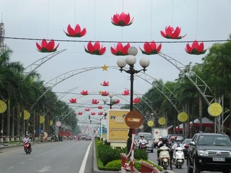 Độc đáo đường hoa mừng khai mạc năm du lịch quốc gia