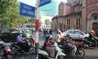 Cấm đường ở trung tâm Sài Gòn, giao thông ùn ứ