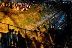 ''Phê'' ma túy trên đường sắt, bị tàu hỏa đụng chết