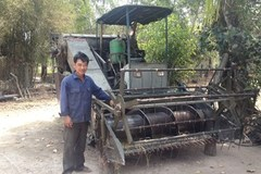 Lão nông lớp 3 được mời qua Campuchia chế tạo máy