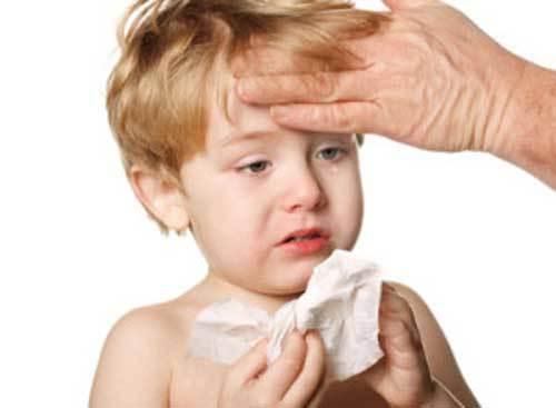 phòng bệnh, cho trẻ, sốt, viêm họng