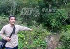 Tận mắt dấu chân, vết cào của hổ ở Tuyên Quang