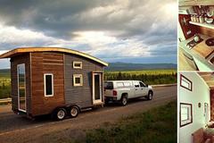 Ngôi nhà di động 9m² cực chất cho những người yêu du lịch