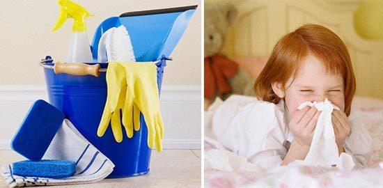 Nhà quá sạch làm trẻ dễ sinh bệnh