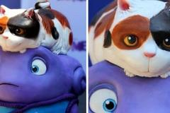 Những chiếc bánh cupcake dựa trên các nhân vật hoạt hình nổi tiếng