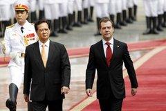 Ngày bận rộn của Thủ tướng Nga ở Hà Nội