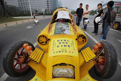 Những xe tự chế nổi tiếng thế giới