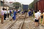 Tai nạn đường sắt do thanh ray  rỉ mọt