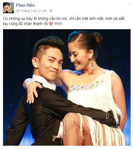 Thông điệp tình yêu đầy ẩn ý của Phan Hiển với Khánh Thi