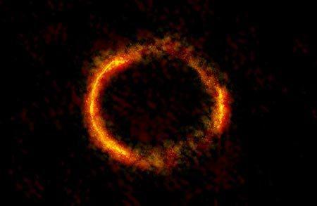 Phát hiện vòng lửa bí ẩn xuất hiện giữa vũ trụ