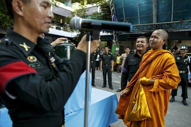 Nhà sư, chuyển giới, Thái Lan, tân binh