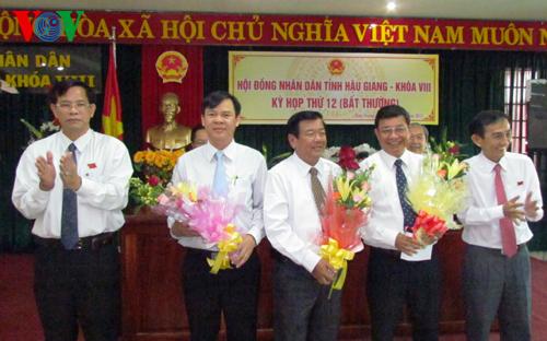 nhân sự, Cao Bằng, Ban Nội chính TƯ, Hậu Giang