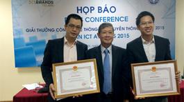 Công bố giải thưởng ASEAN ICT Awards 2015