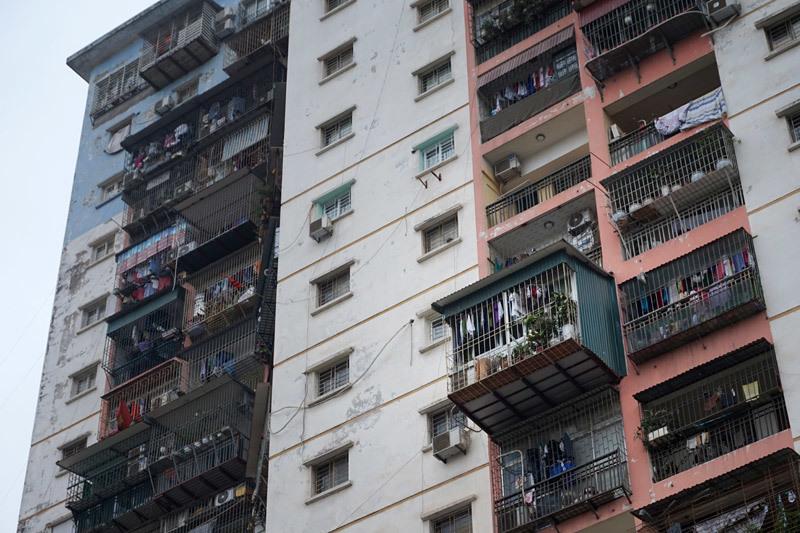Nét truyền thống bao cấp tô điểm chung cư mới Hà Nội