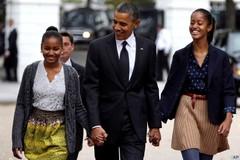 Obama rơi lệ khi nghĩ con cái sắp trưởng thành