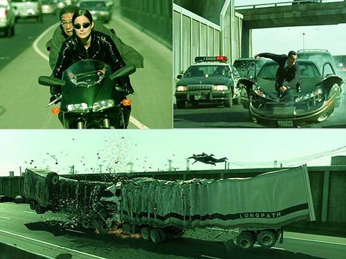 màn 'giết xe', bom tấn Hollywood