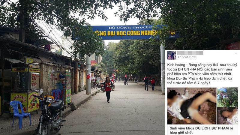 Truy tìm kẻ tung tin 'nữ sinh bị hiếp, giết' ở Hà Nội